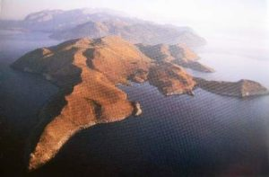 Kap Tainaron - die Südspitze des Taygetos-Gebirges