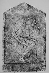 Lakonische Grabstele um 450 v. Chr.