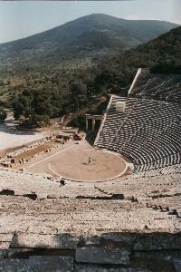 Epidauros: Theater