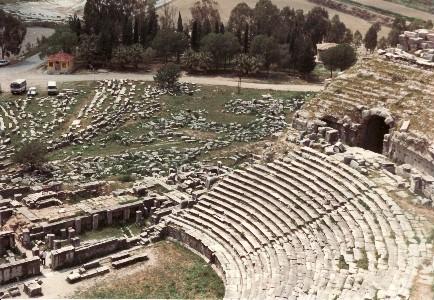 Ionien: Milet - hellenistisches Theater