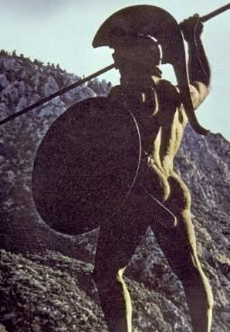 Leonidas-Denkmal an den Thermopylai