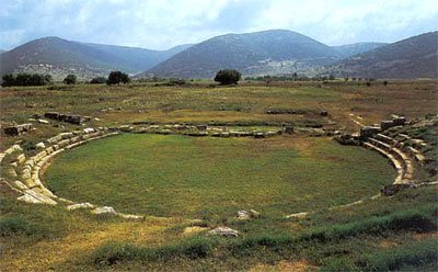 Mantineia: Theater