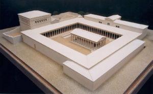 Messene - Rekonstruktion der Agora in der von Epameinondas neugegründeten Stadt