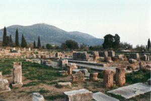 Die Agora von Messene heute