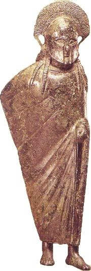 Bronzestatuette, um 500 v.Chr.