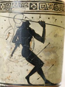 Hoplit im Pfeilregen (Quelle: Wikipedia)