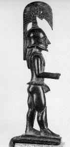 Lakonischer Bronzehoplit, Fundort Kynouria (Lakonien)