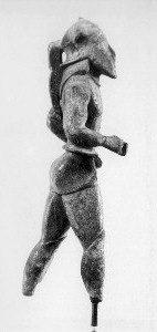 Lakonischer Bronzehoplit, Mitte des 6. Jh.